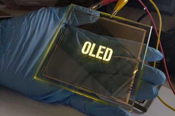 OTI Lumionics transparent OLED lighting panel